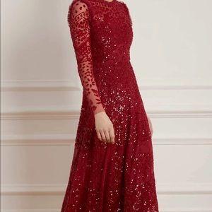 NWT Needle and thread red aurora ballerina dress